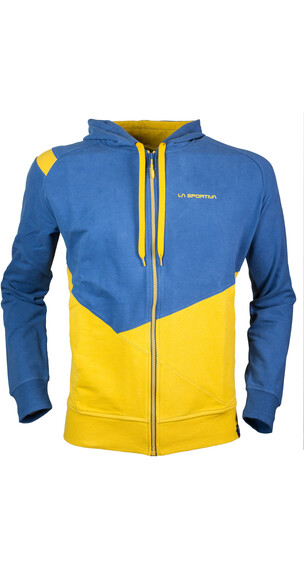 La Sportiva M's Rocklands Hoody Nugget/Dark Sea Blue